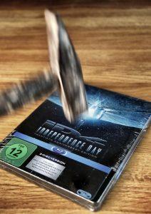 Independence Day-Blu-Ray und Hammer