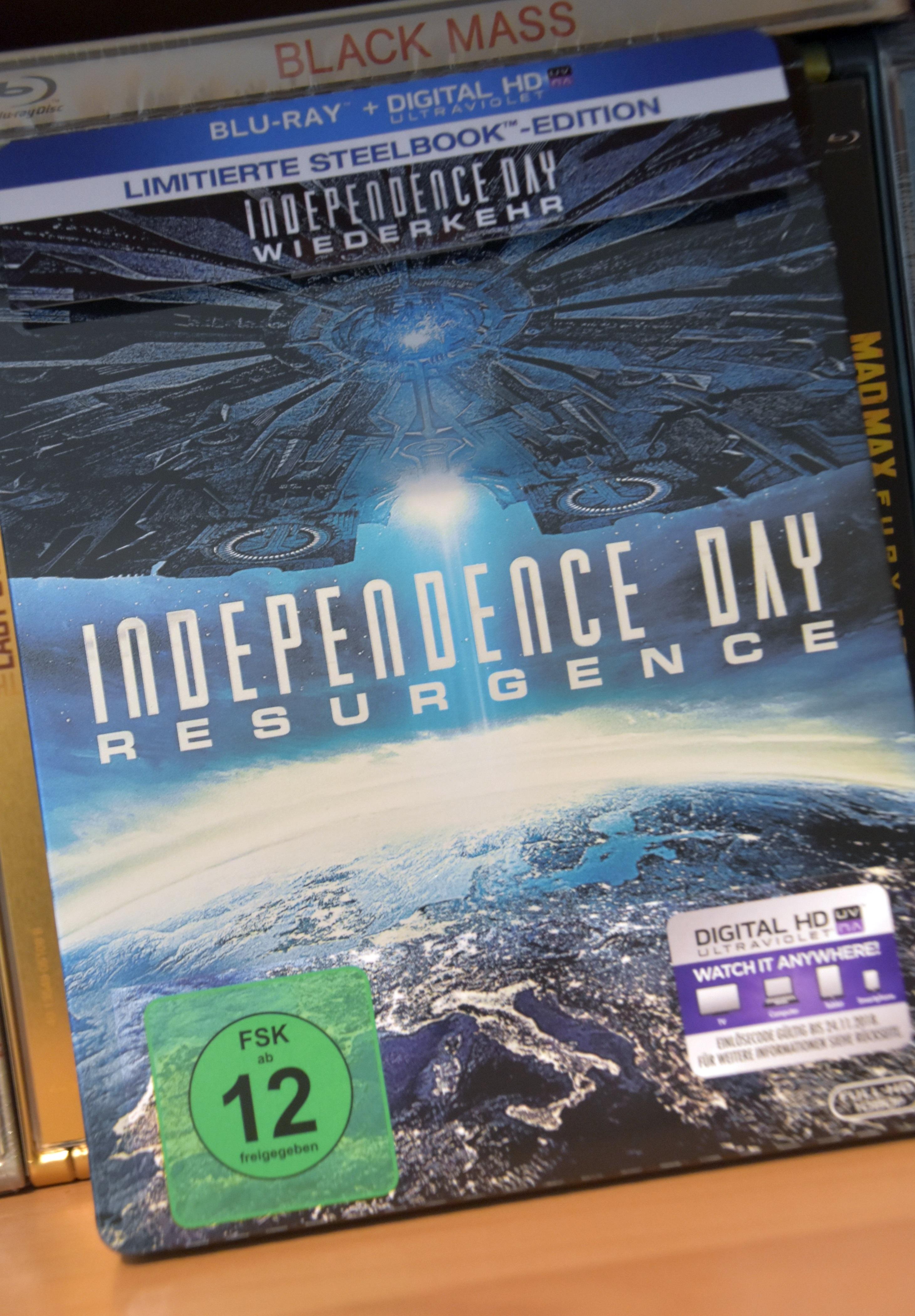 Independence Day: Resurgence im Steelbook
