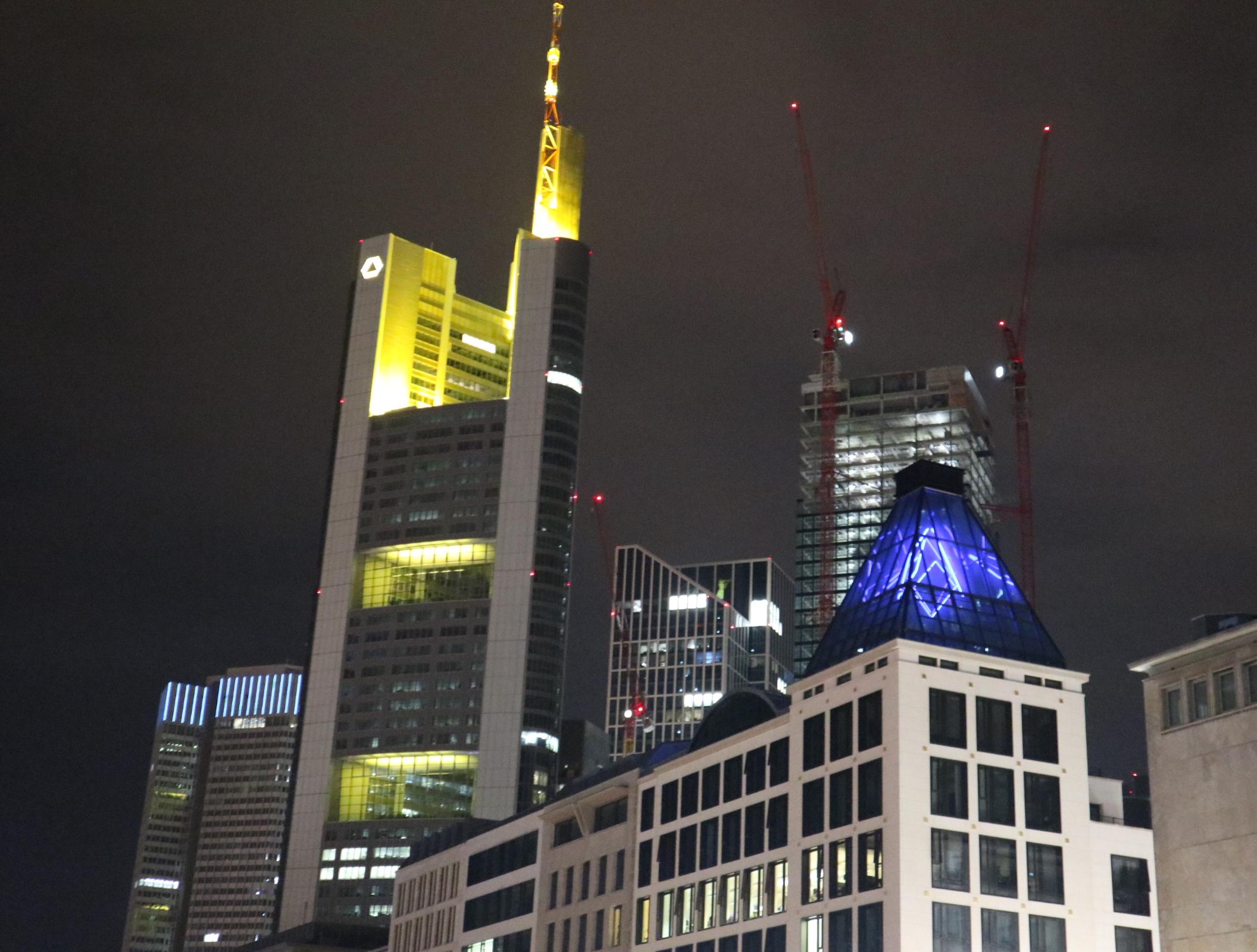 Frankfurt Hochhäuser