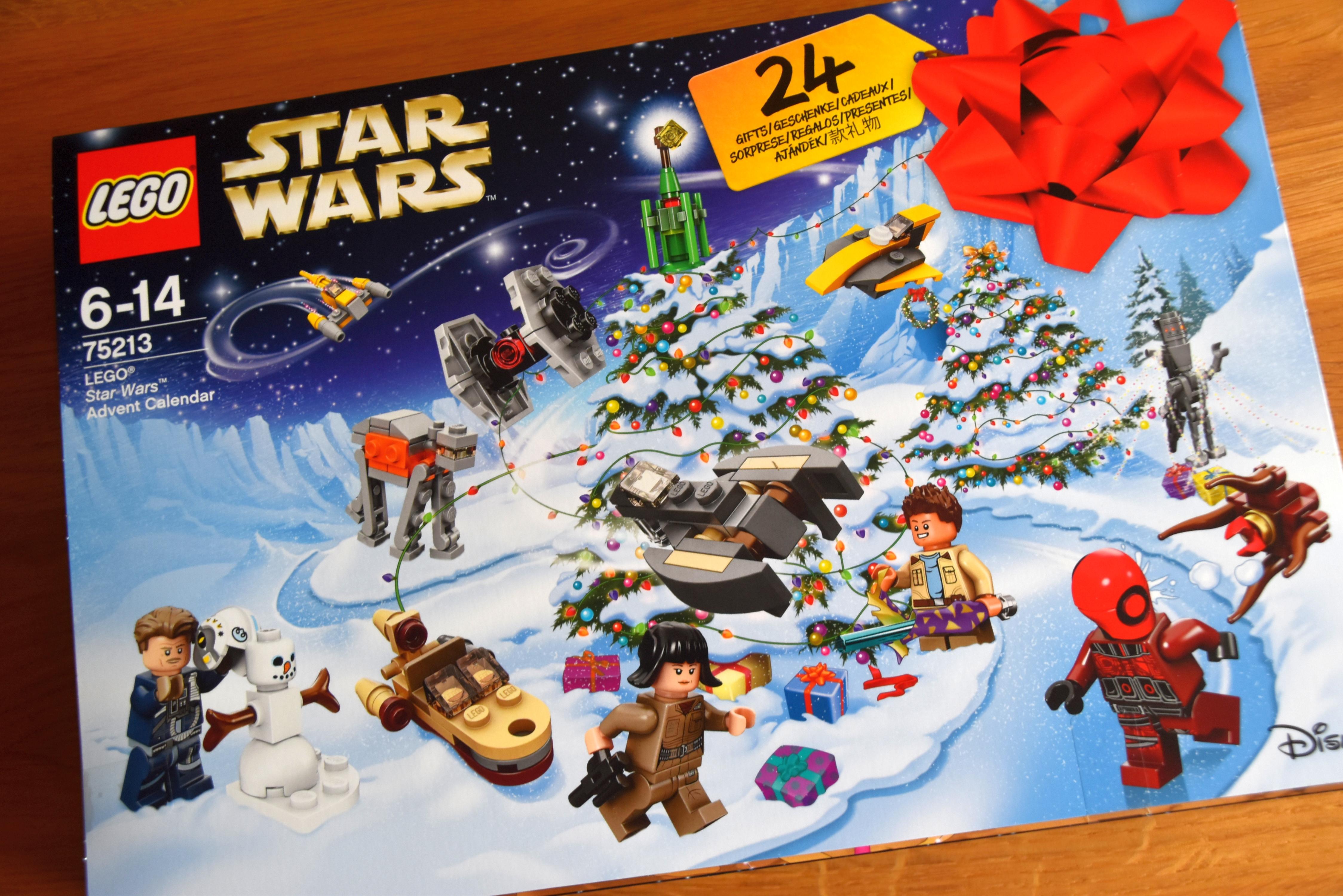 Lego Star Wars Adventskalender Front