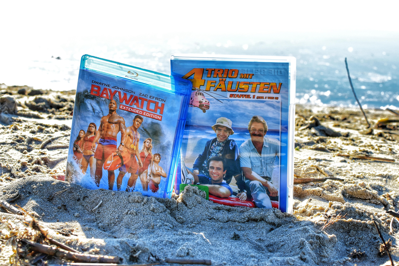 Baywatch und Riptide Blu-Ray und DVD