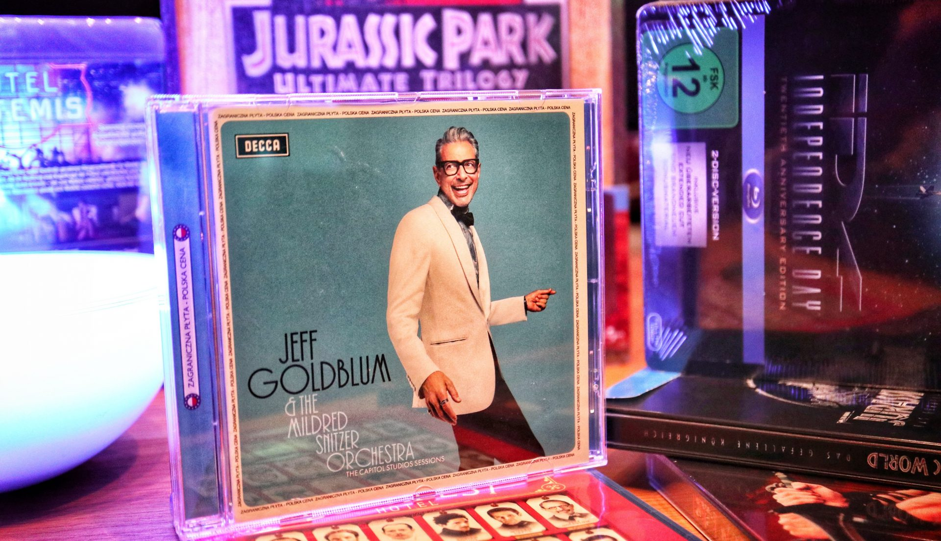 Jeff Goldblum: The Capitol Studios Sessions – Der Jazz-Entertainer