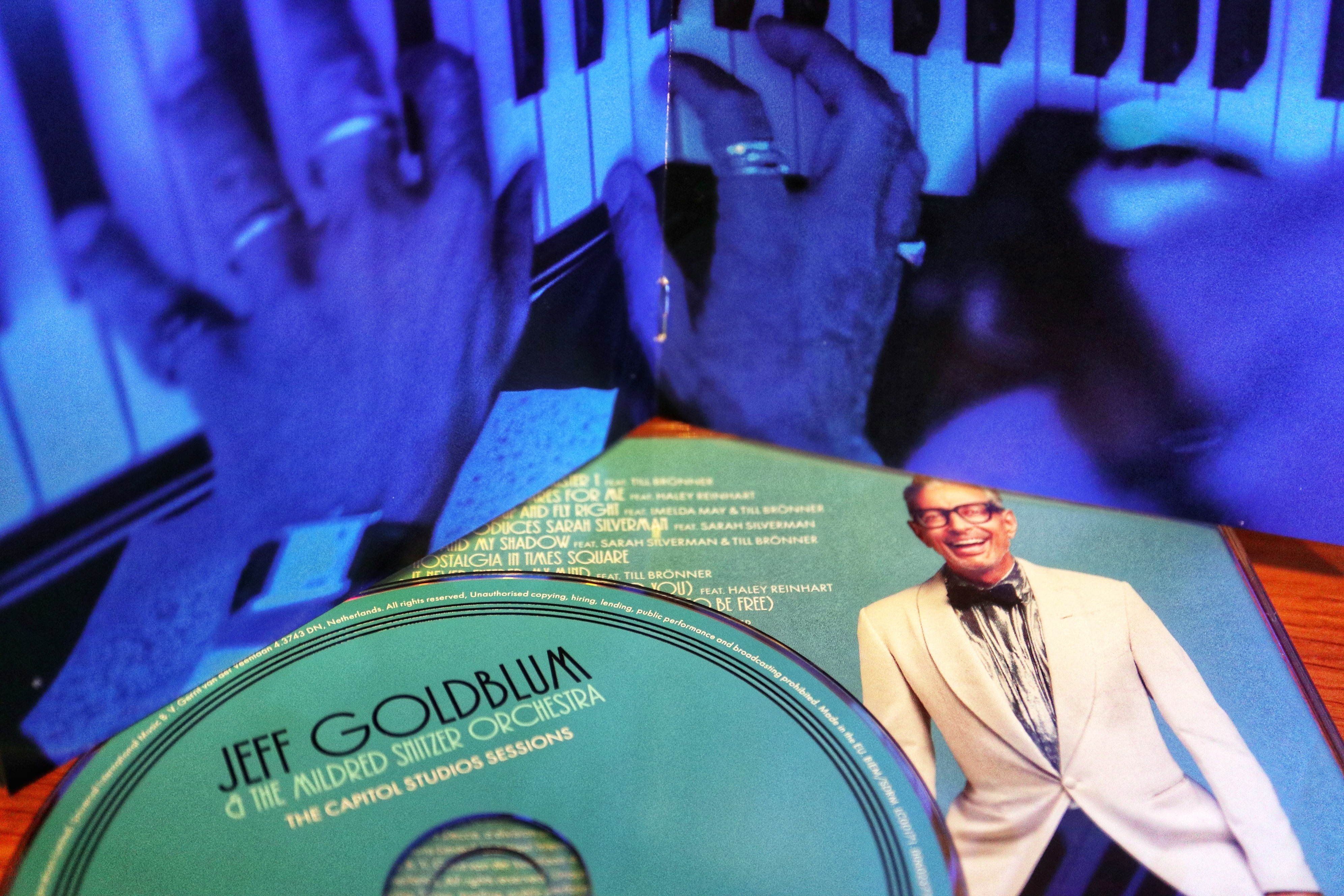 Jeff Goldblum CD Booklet