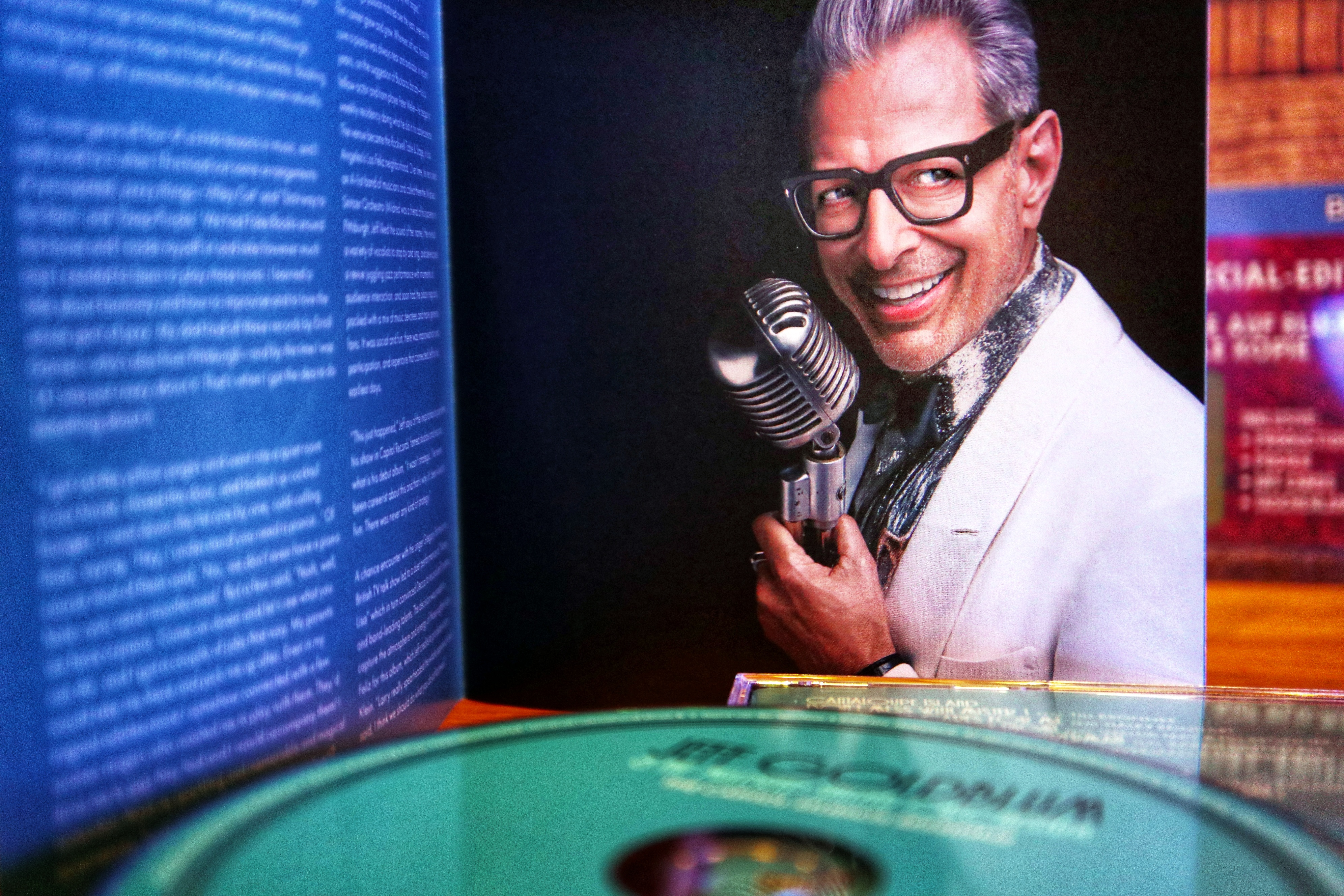Jeff Goldblum Foto Booklet
