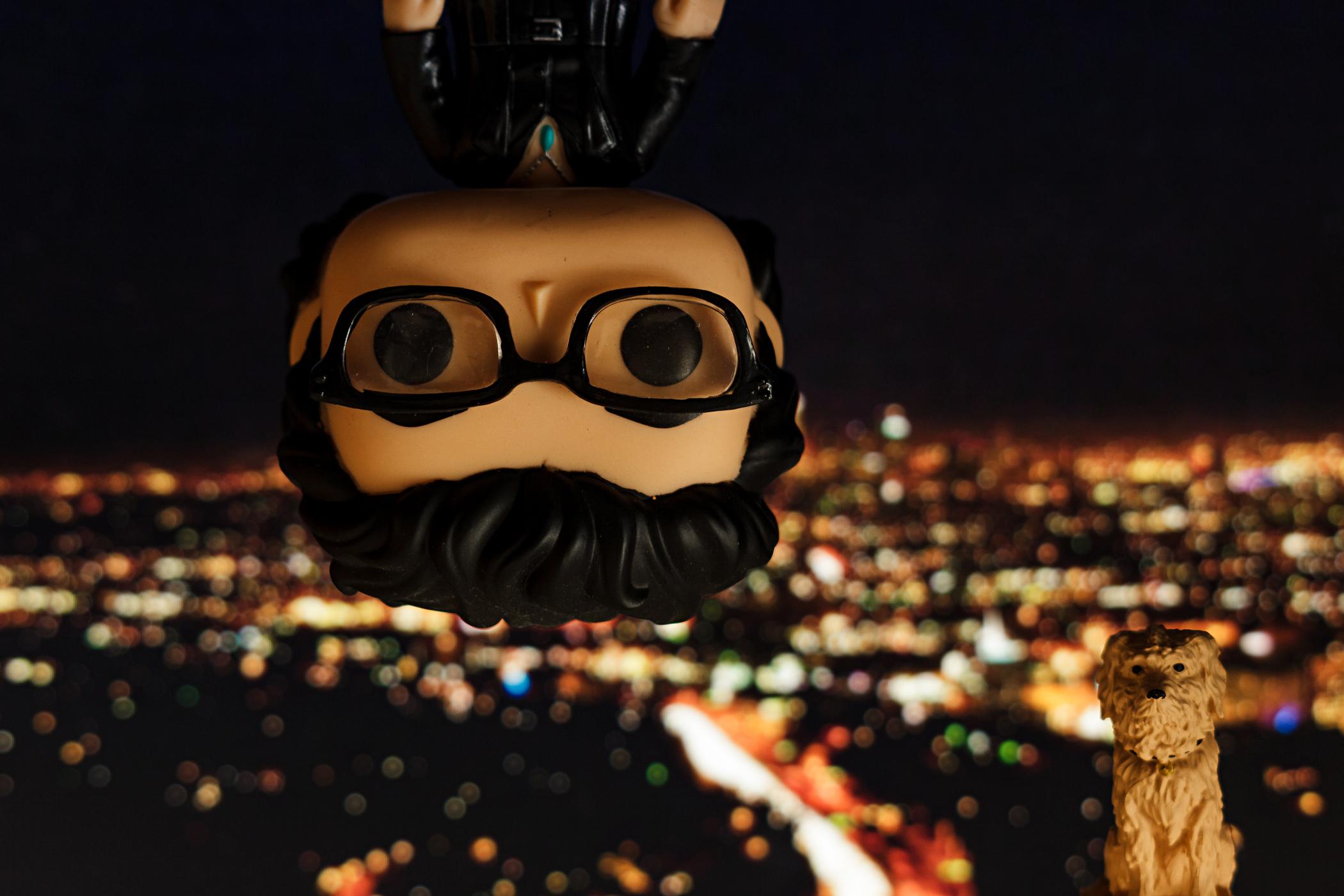 Kopfüber in die Nacht Figuren