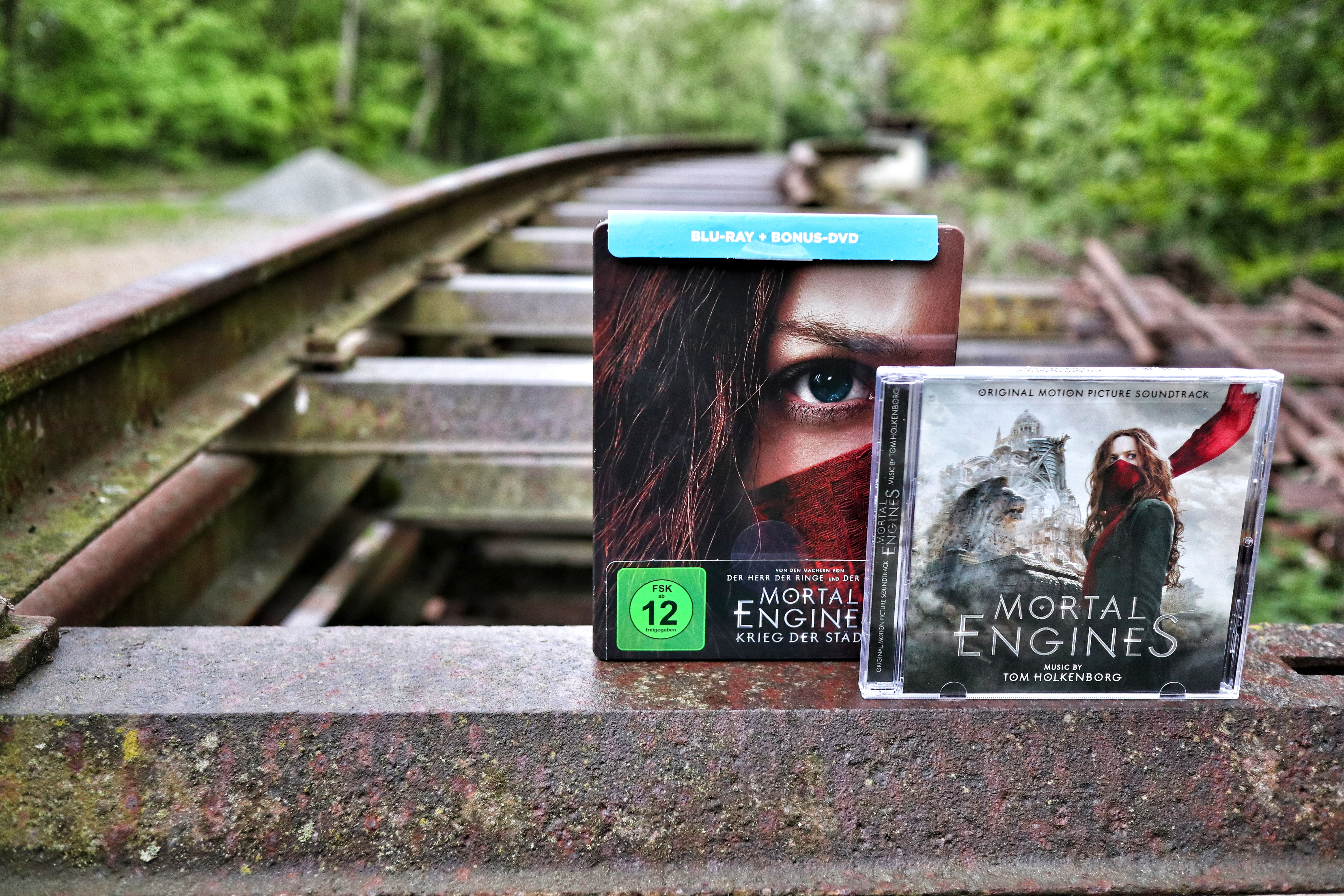 Mortal Engines Blu.Ray und Soundtrack