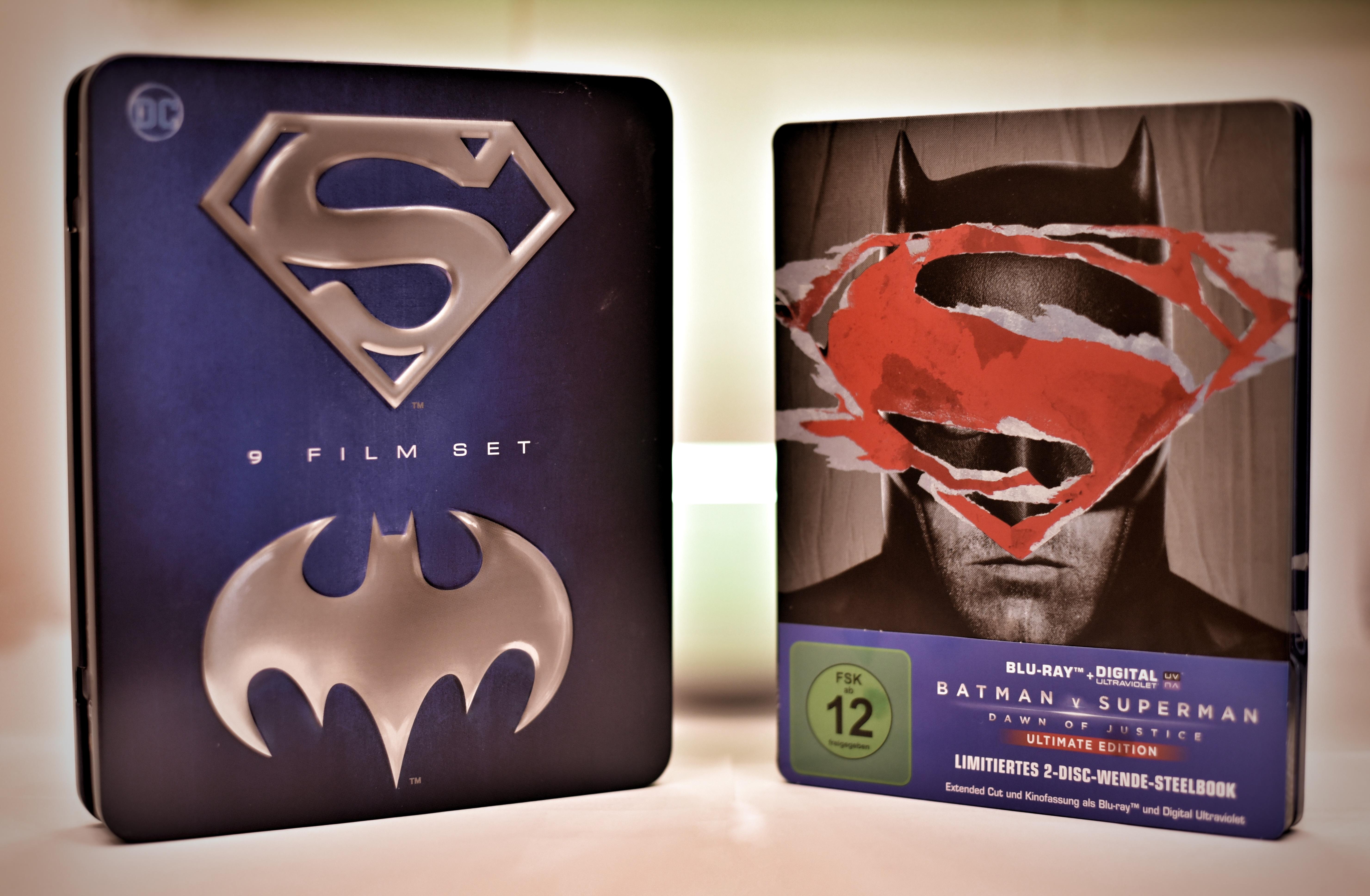 Batman und Superman Blu-Rays