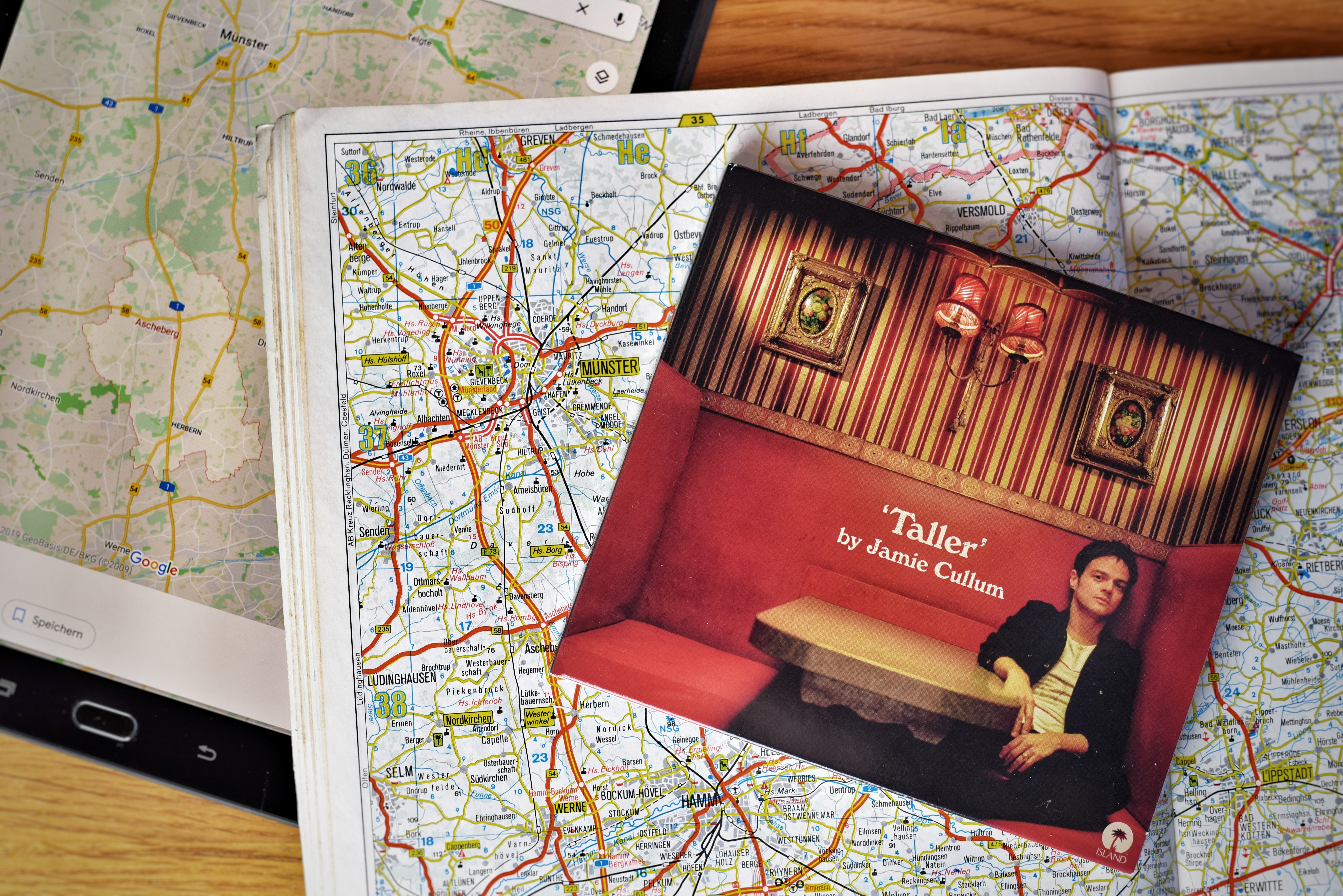 Jamie Cullum: Taller – Musik für drei Stunden Autobahn