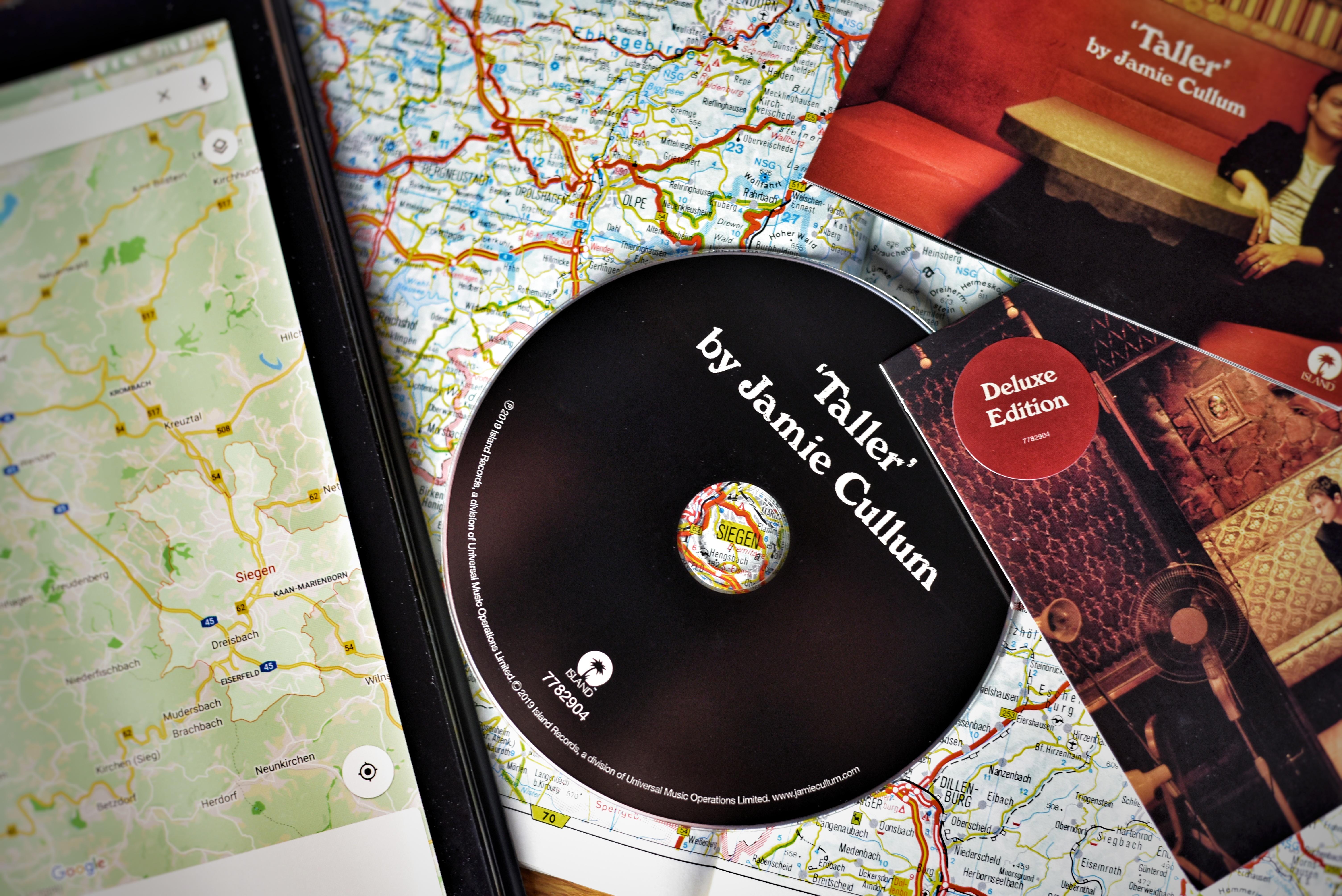 Jamie Cullum Taller CD und Karten