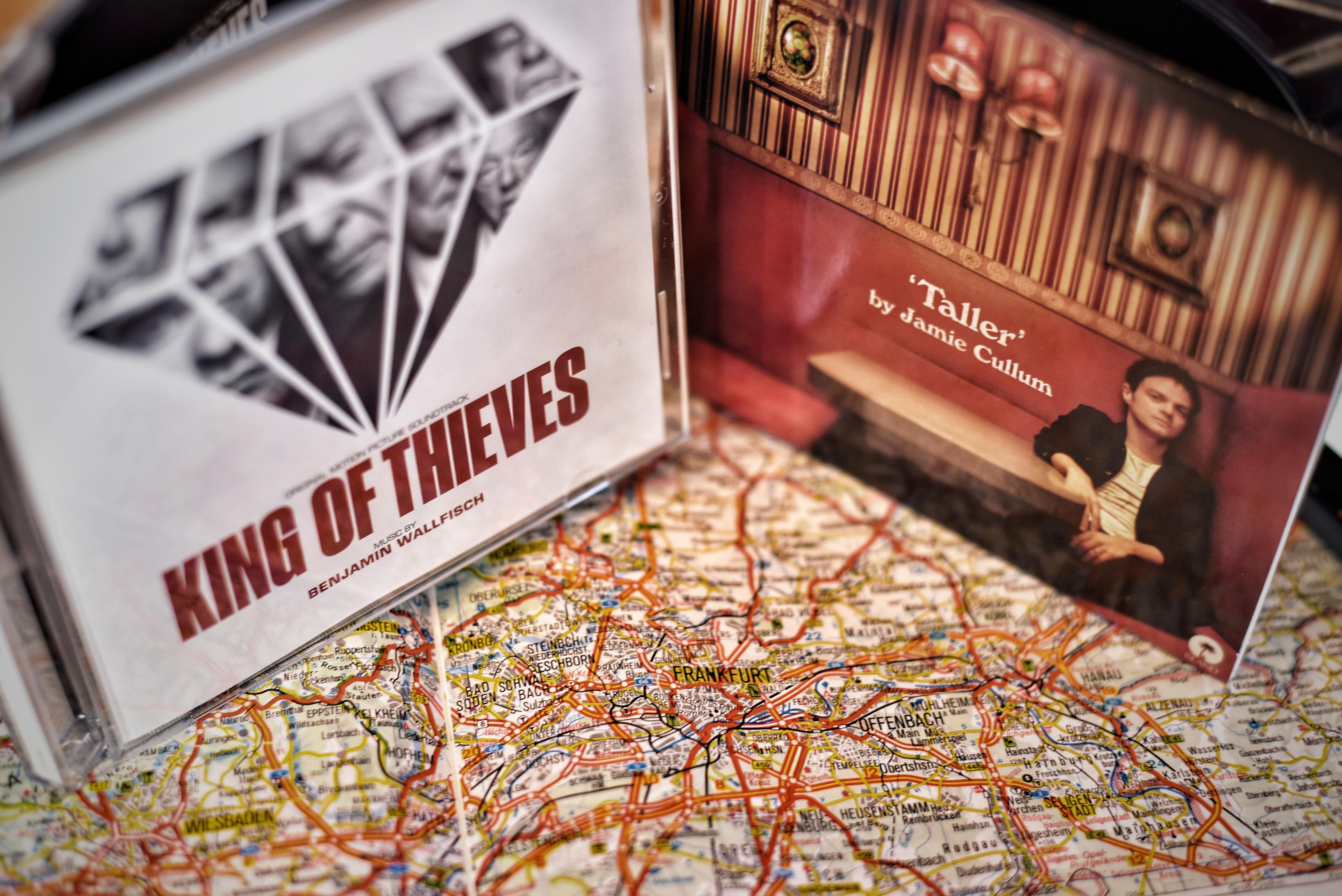 Jamie Cullum Taller und King of Thieves Soundtrack