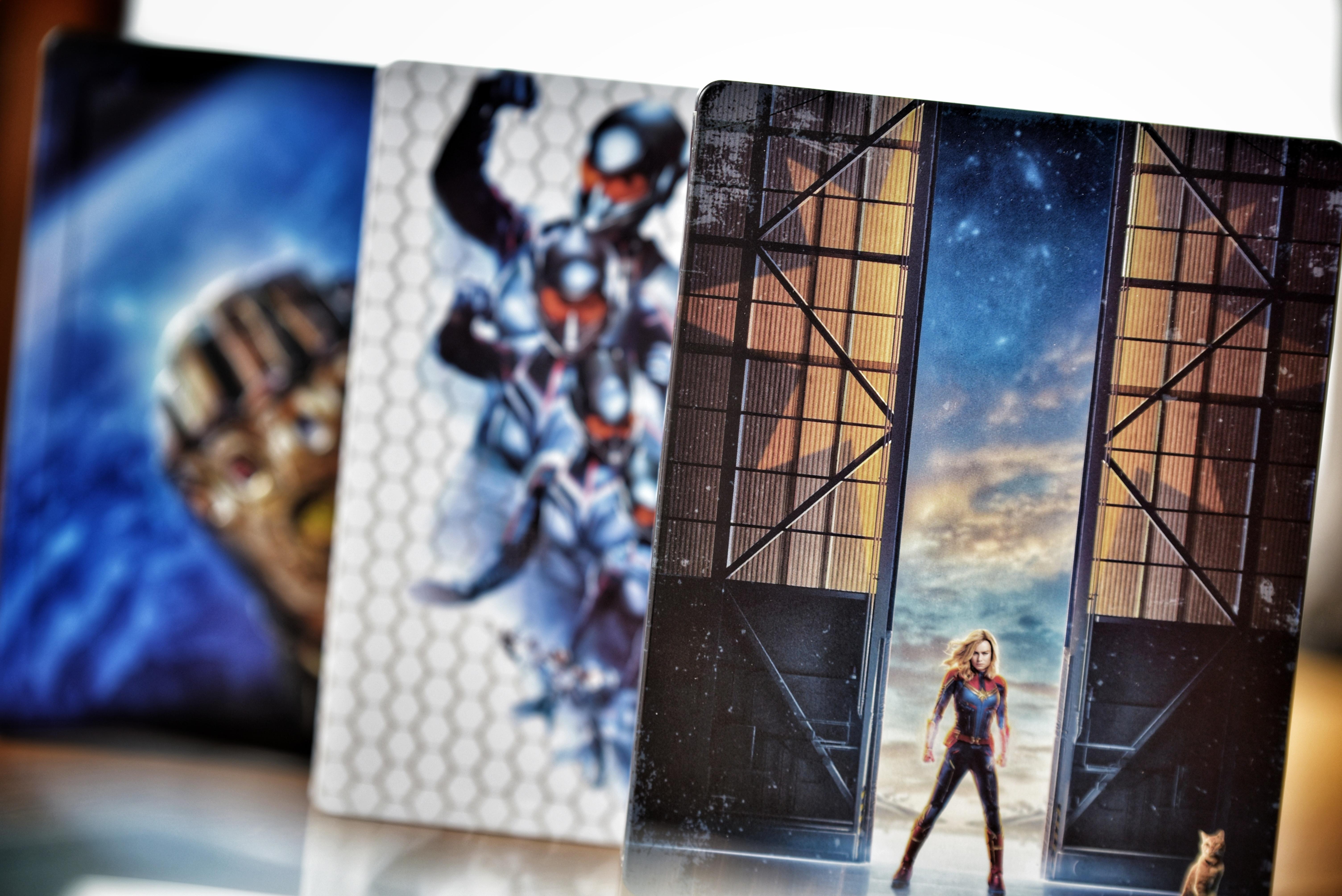Marvel Blu-Rays