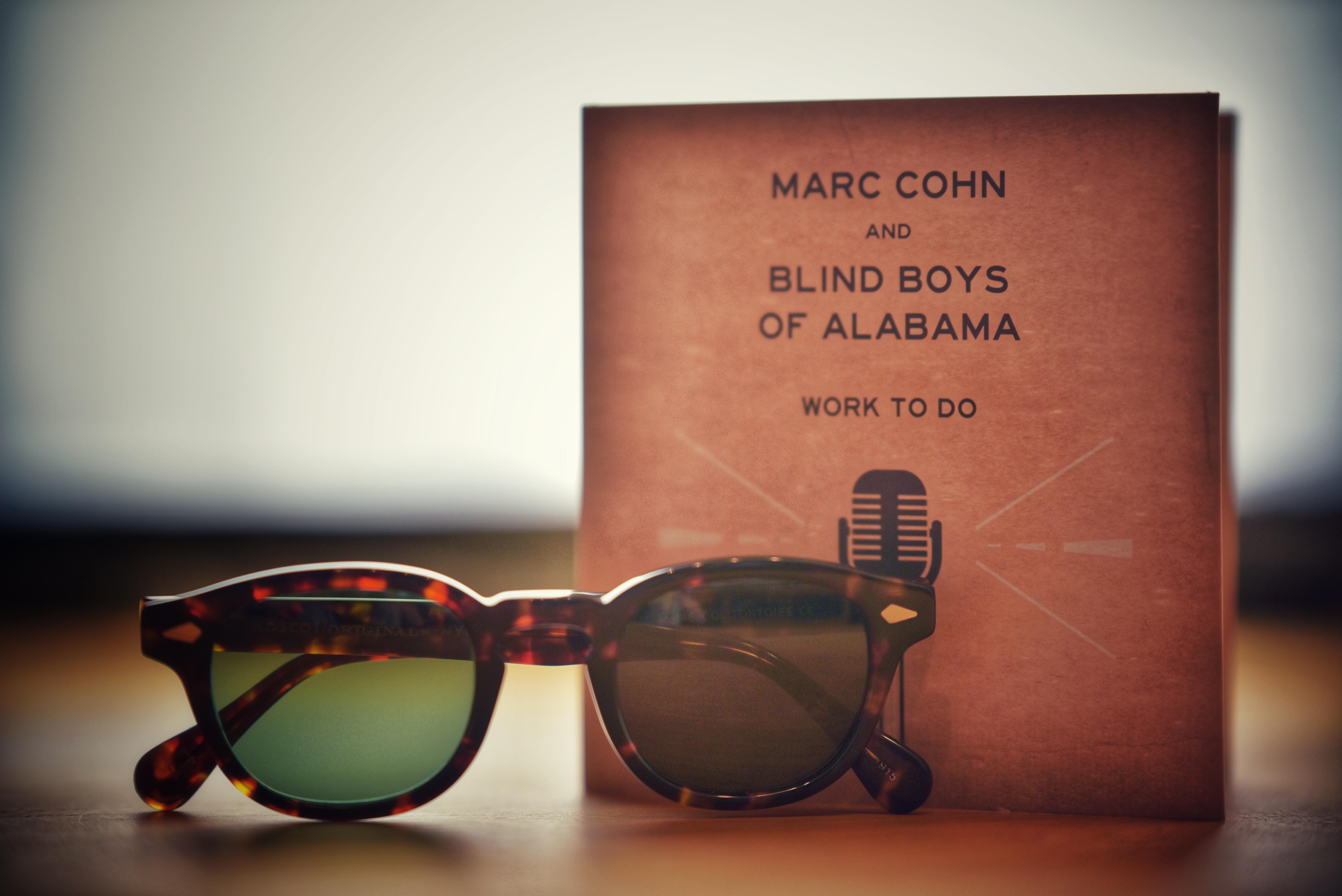 Marc Cohn CD und Sonnenbrille