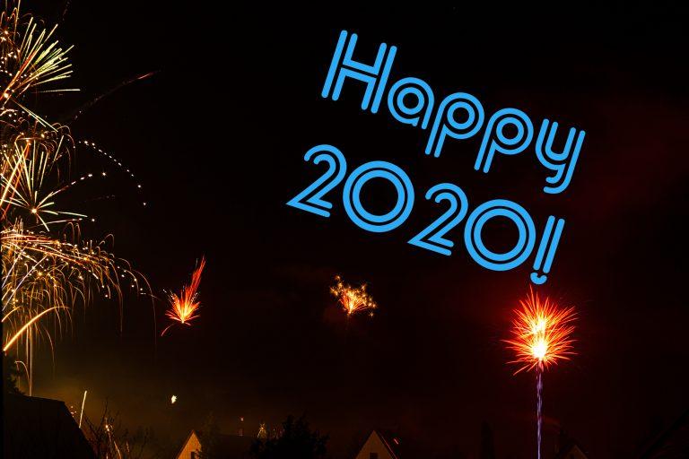 Ein frohes neues Jahr 2020!